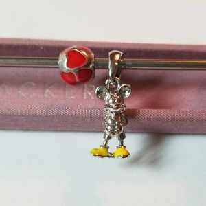 3/$20💜Love Mickey Mouse Charm for Pandora